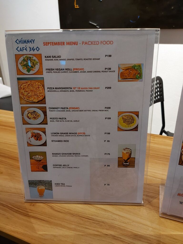 artsector gallery review, art sector gallery, chimney cafe 360 menu
