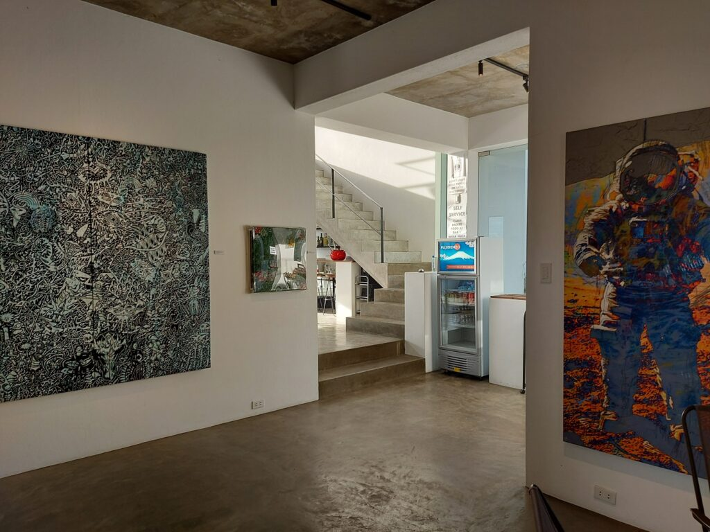 artsector gallery review, art sector gallery, chimney cafe 360 artwork