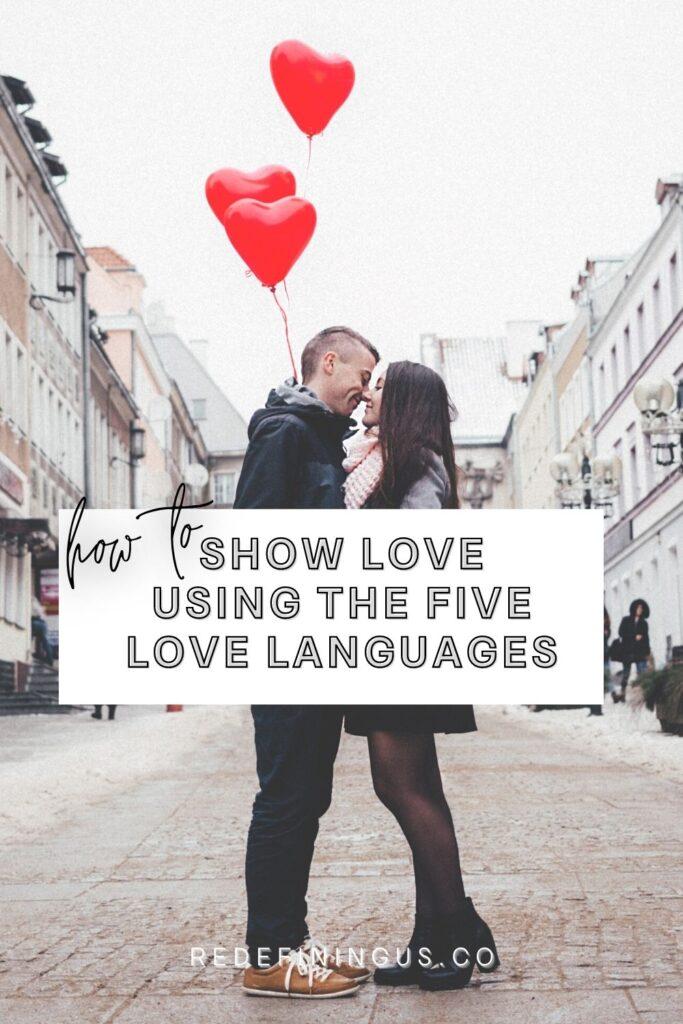 Five Love Languages Worksheet