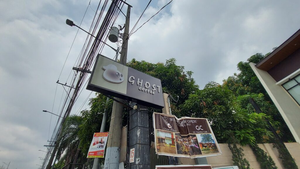 ghost coffee antipolo review instagrammable