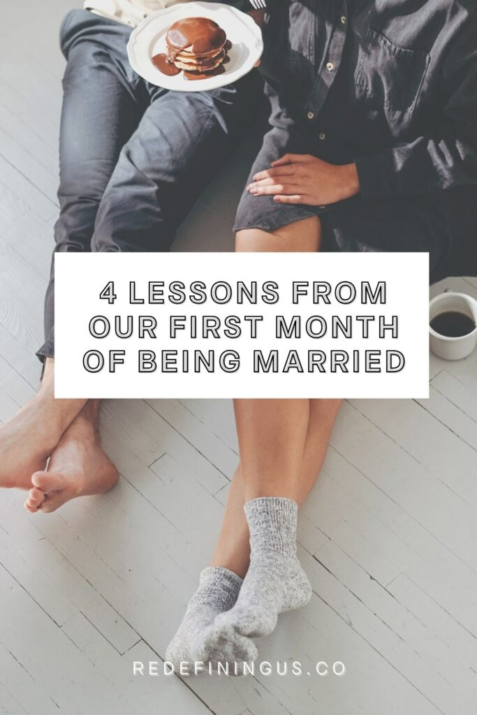 Lessons Learned from One Month Being Married
