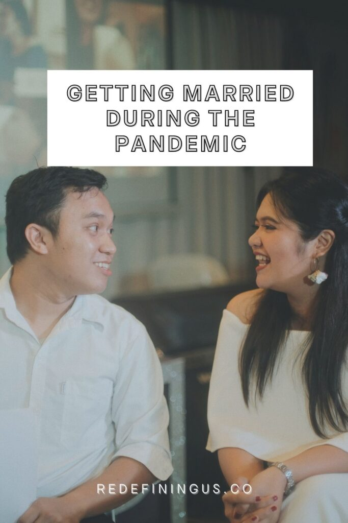 Getting Married during COVID pandemic philippines - simple wedding
