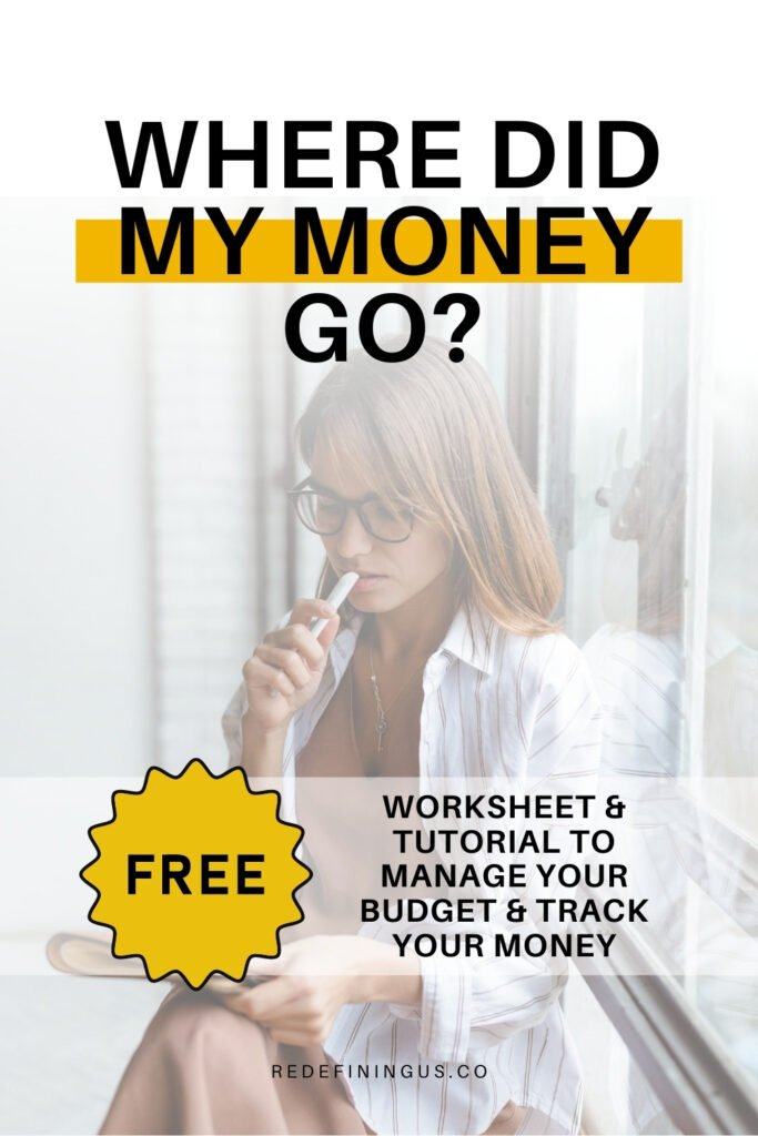Where did My Money Go Worksheet Free