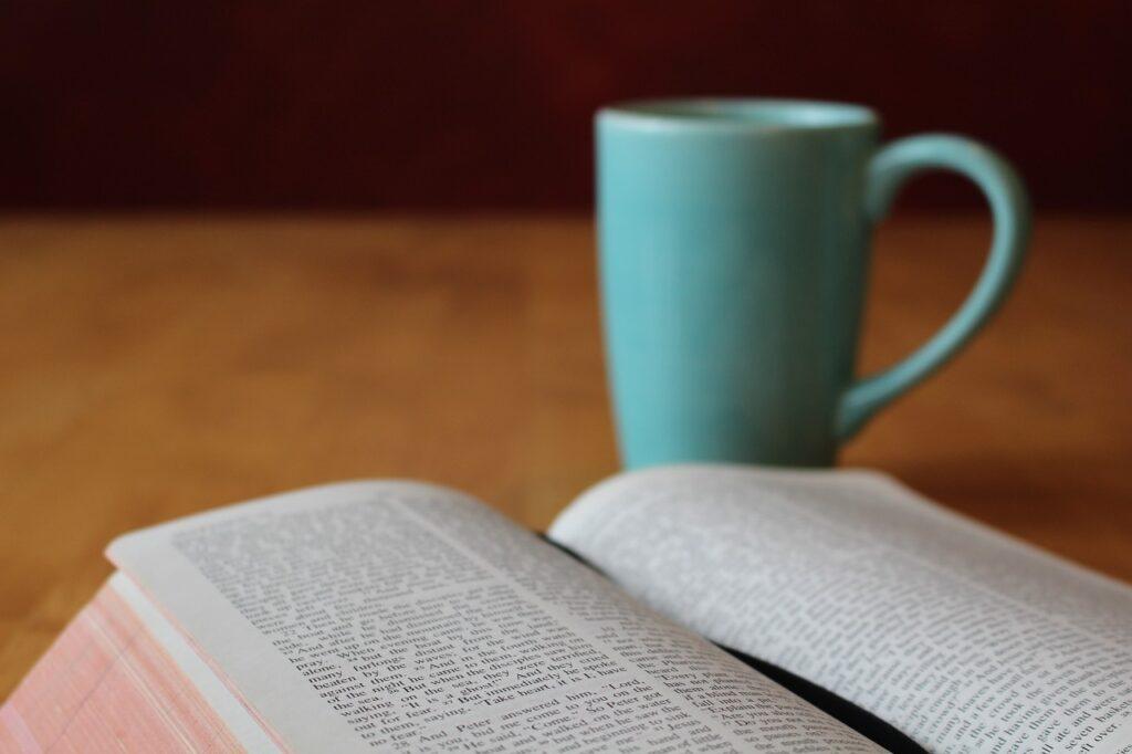 bible, study, coffee, how to do devotion