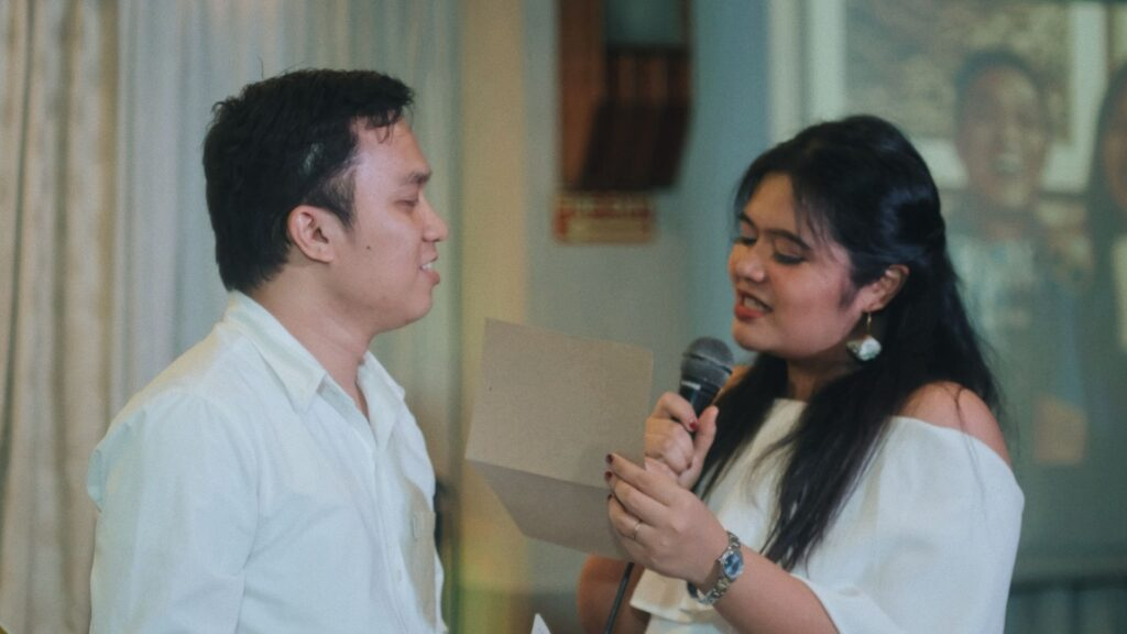Touching Personal Wedding Vow of Christian Bride