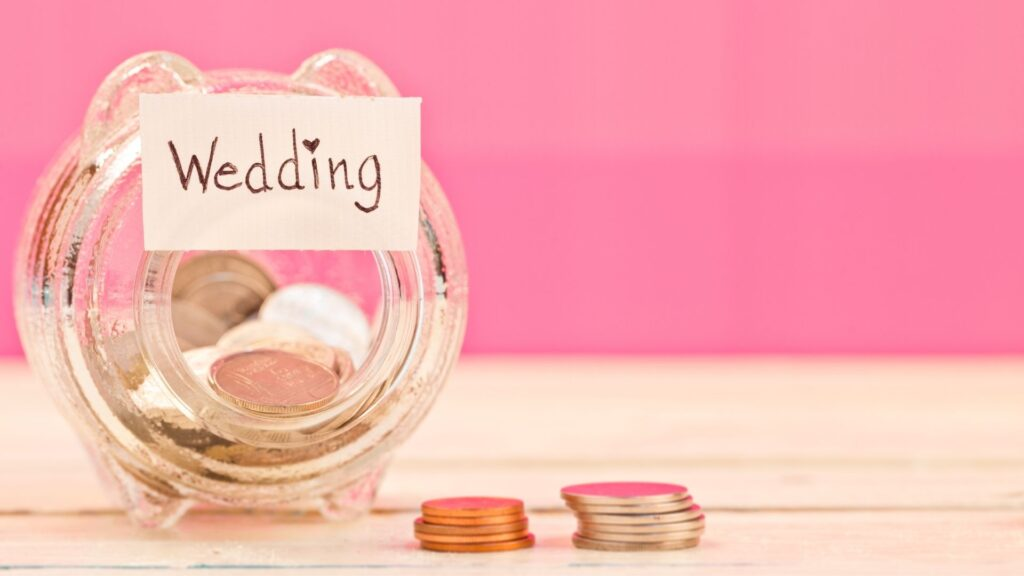 how to save money for a wedding in 6 months